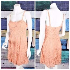 NEW Maurices Floral Lace A-Line Sundress Boho